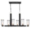 Jarsdel 6 Light Industrial Island Light