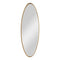 Hadea Gold Oval Mirror