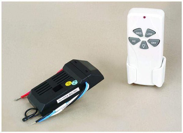 VL Ceiling Fan Remote Control Kit in White Finish X-RC6593N