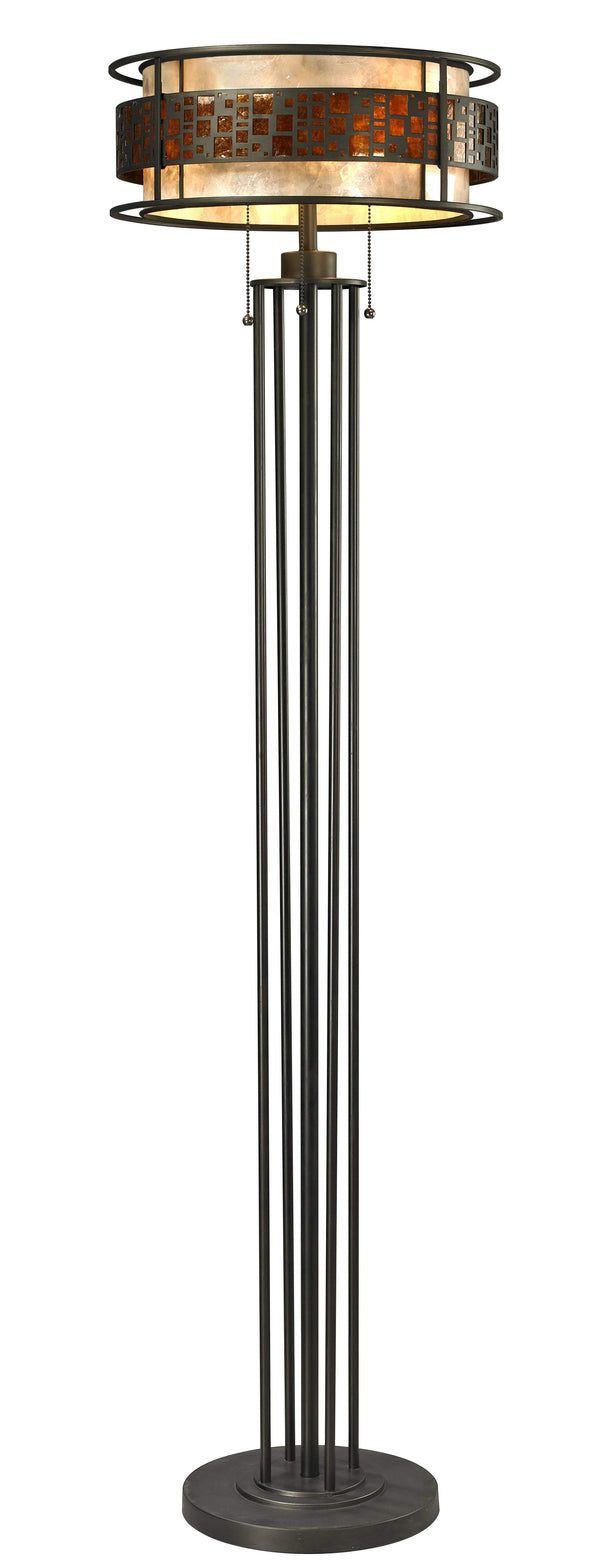 New zlite Product  Oak Park Collection 3 Light Floor Lamp in Java Bronze Finish Sold by VaasuHomes