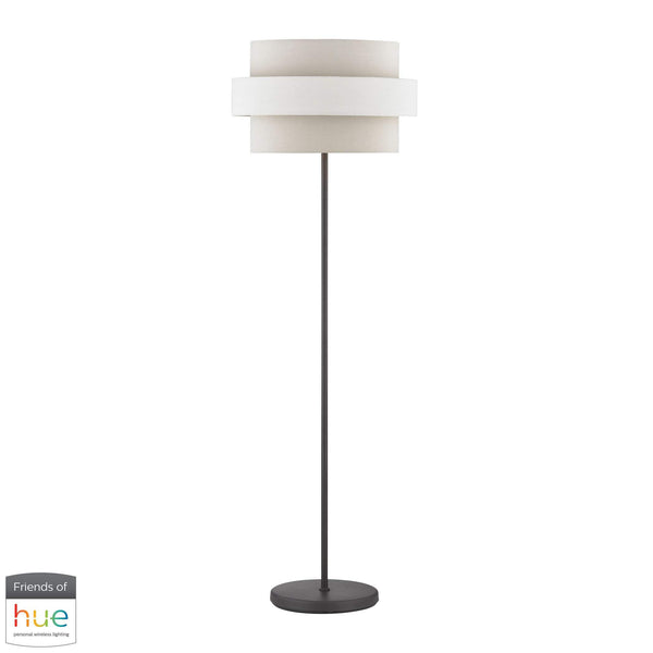 Sybil Floor Lamp - with Philips Hue LED Bulb/Dimmer