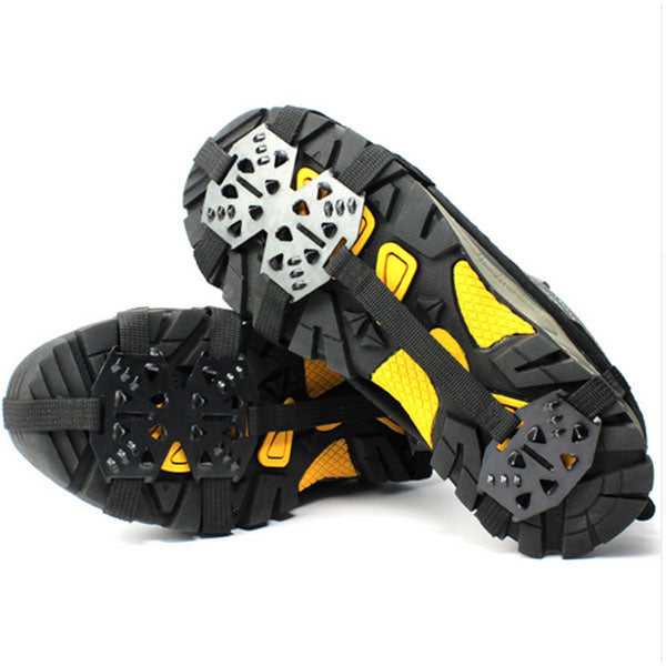 1 Pair Walking Cleat Non-Slip Snow Ice Spikes