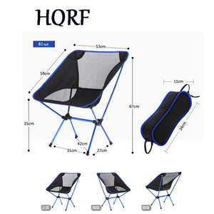 Portable Folding Aluminium Alloy Chair 600D Oxford