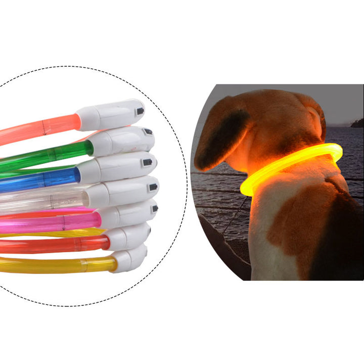 LED Rechargeable Dog Collar