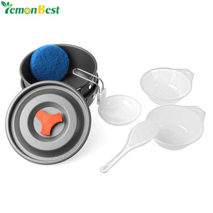 Outdoor Camping Cooking Pots and Pans Set