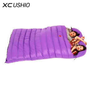 Goose Down Double Waterproof Sleeping Bag