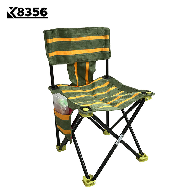 Quality Portable 600D Nylon Cloth lFloding Chair K8356