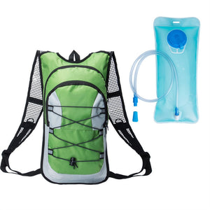 Travel Backpack Hydration Rucksack + 2L Hydration Bladder
