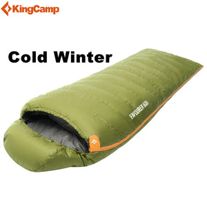 KingCamp Winter Duck Down Ultralight Sleeping Bag