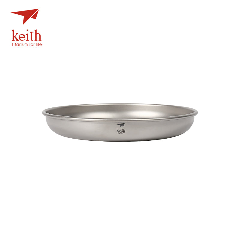 Keith Camping Titanium Dishes 150ml-450ml Saucer