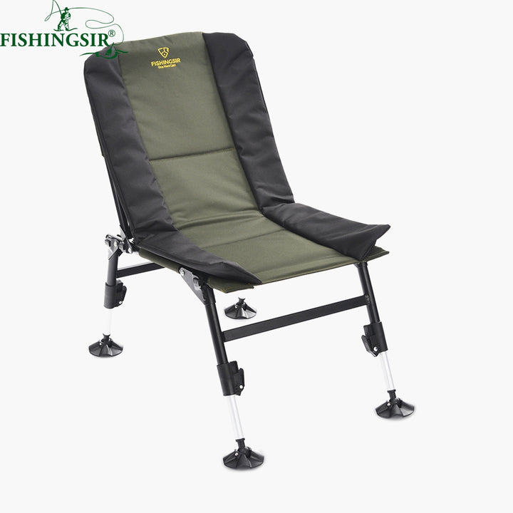 Outdoor Portable Ultimate Breathable Folding Camping Chairs w/ Adjustable Legs