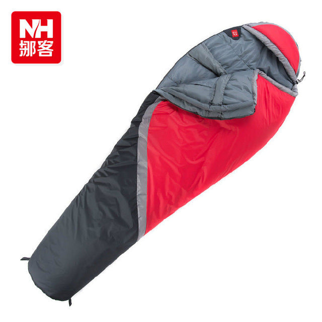 Outdoor Camping Thermal - 5 degrees Single Adult Mummy Sleeping Bag