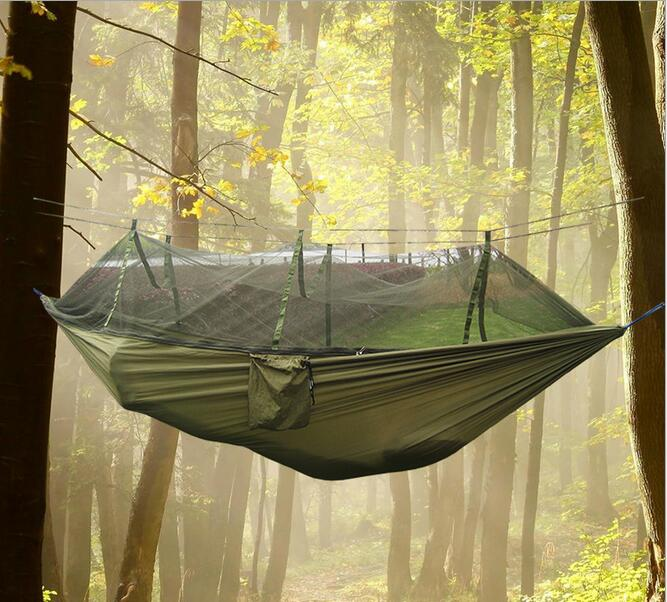 Outdoor parachute cloth hammock