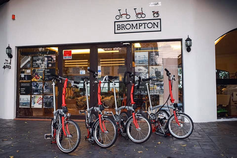 Please Come Try Brompton Demo Bikes