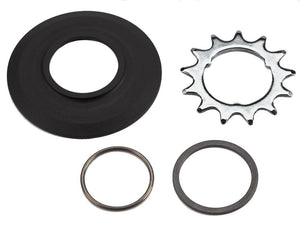 Sprocket set incl chain guide disc 3/32' 3-spline - 13T (3-spd)