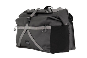 Borough Roll Top Bag Large in Dark Grey