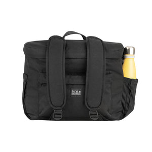 Metro Back Pack Medium in Black