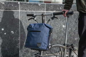 Borough Waterproof Bag Small in Navy