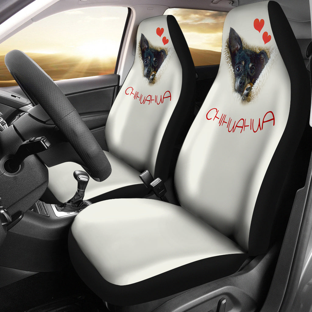 Chihuahua Dog Face Car Seat Cover – cannonstreetshop