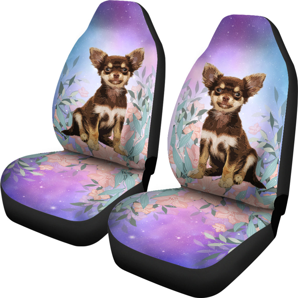 Chihuahua at galaxy Car Seat Covers – cannonstreetshop