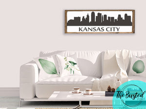 Kansas City Skyline Home Decor