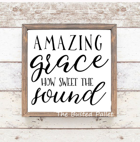 Amazing Grace  Framed Wall Art