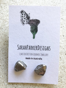 Porcelain Rock Studs