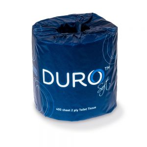 Duro Toilet Paper Roll 400 Sheet Individually Wrapped