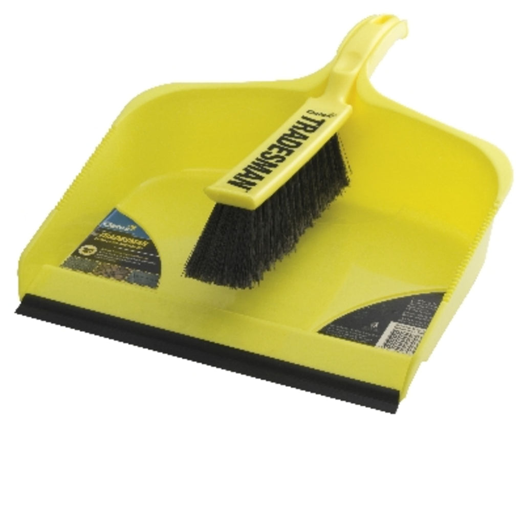 TRADESMAN XL DUSTPAN SET (6) 6
