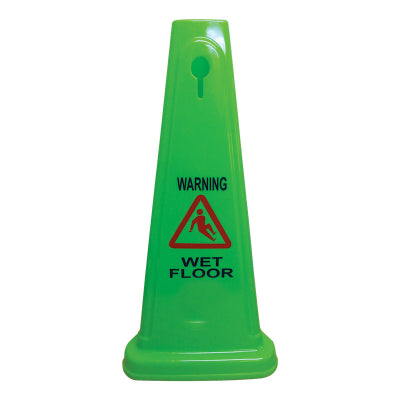 Gala Mini Safety Cone - Wet Floor message - 60cm - various colours