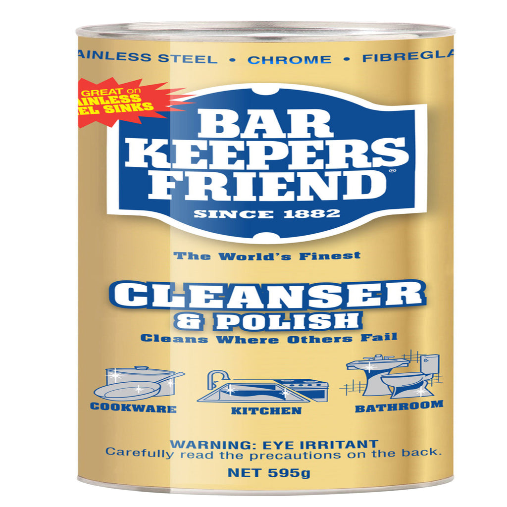 Bar Keepers Friend Cleanser & Polish Powder 595g