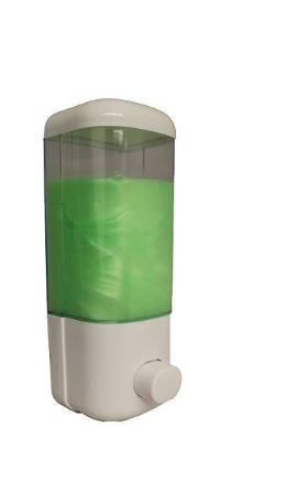 Easy Touch Soap Dispenser Clear Plastic Container 500ml Capacity