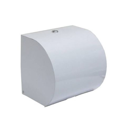 White ABS Plastic Paper Roll Dispenser