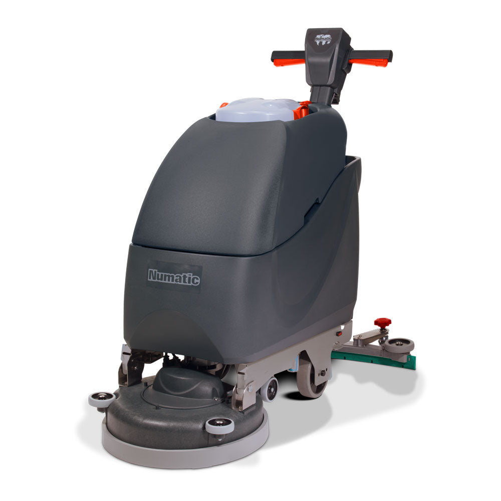 BATTERY SCRUBBER DRYER 40L W/40CM PAD DRIVE + 45cm SCRUB BRUSH(1 ONLY)