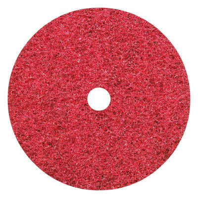 Glomesh Red Spray Buff Regular Speed Floor Pad - Various Sizes - Minimum order 5 units.