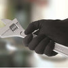 PREMIUM NITRILE  BLACK  GLOVES  -  POWDER  FREE  -  MICRO TEXTURED