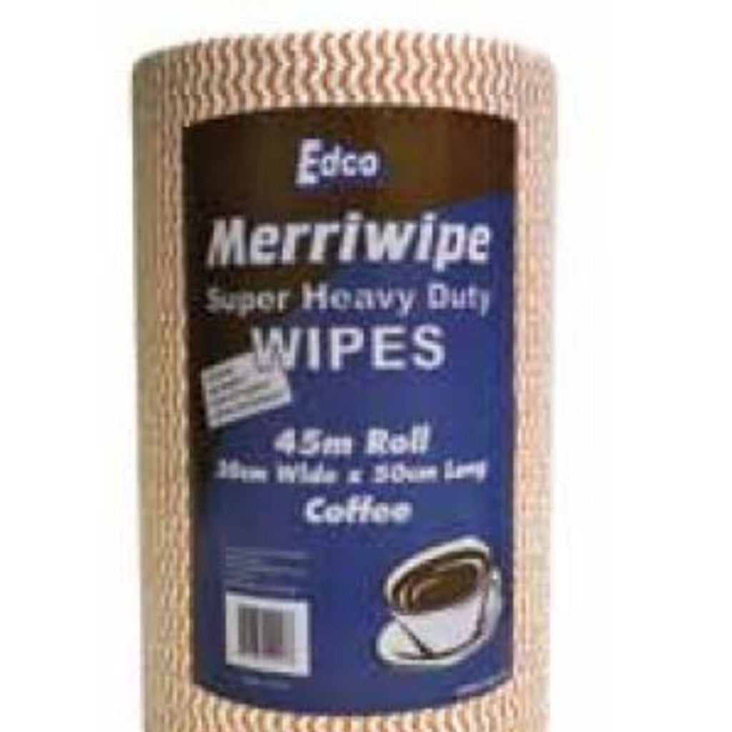 EDCO MERRIWIPE SUPER HEAVY WIPES ROLLS