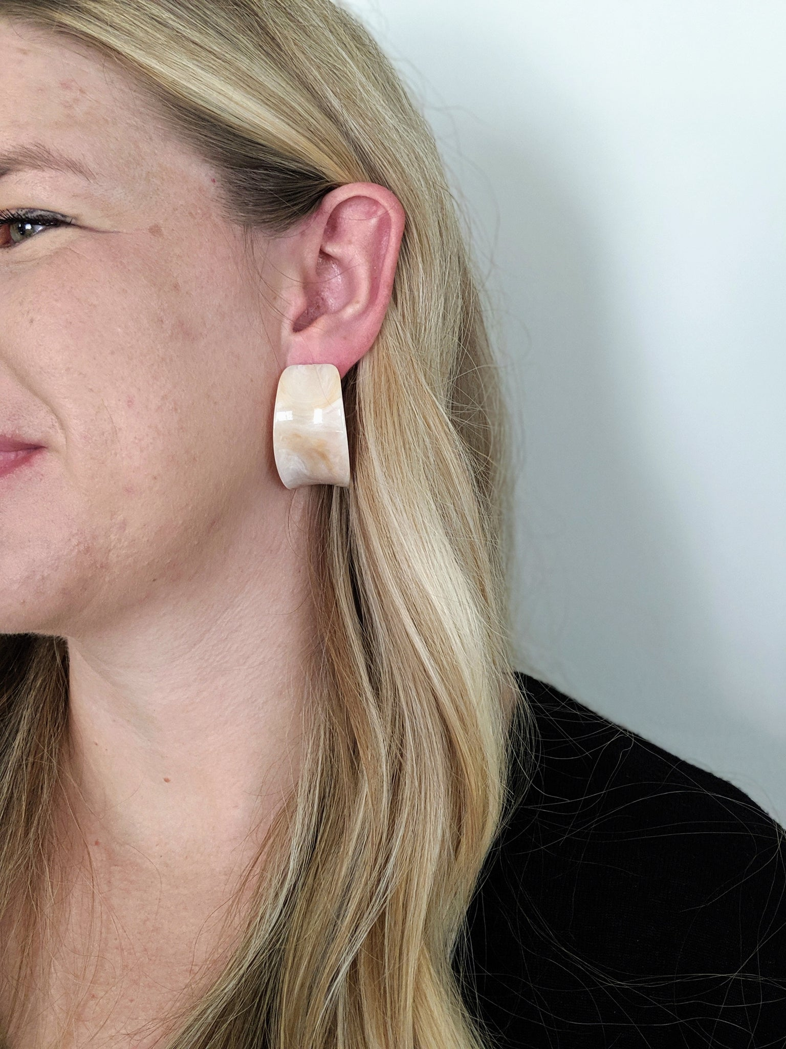 Flintstone Earrings