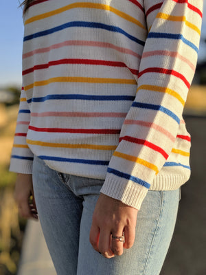 A Bad Case of Stripes Sweater