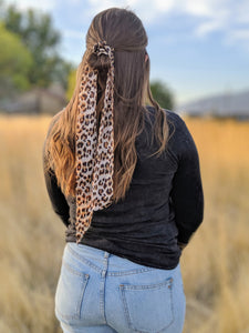 Wild Thing Scrunchie Scarf