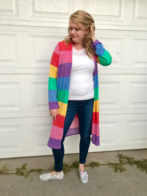Somewhere Over the Rainbow Sweater