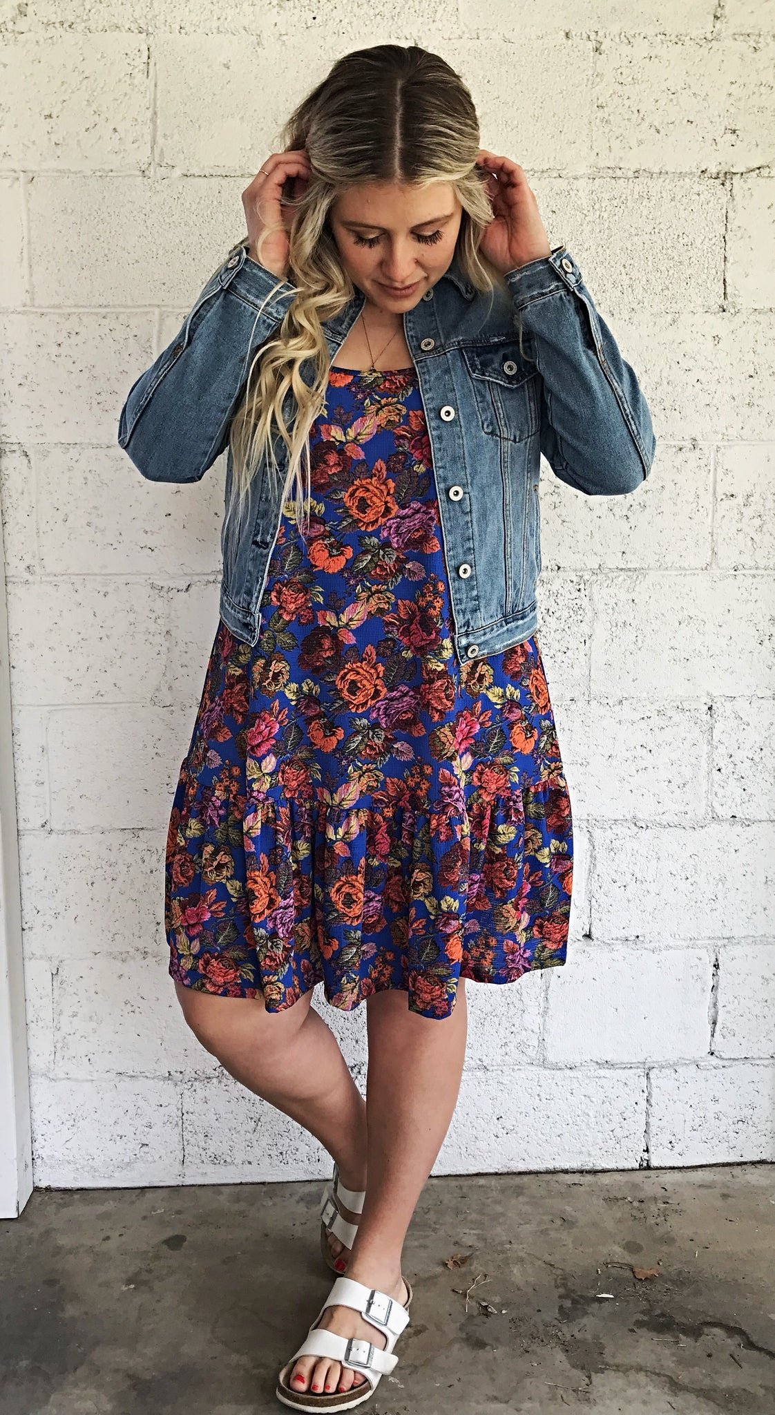 Phoebe Buffay Flower Dress
