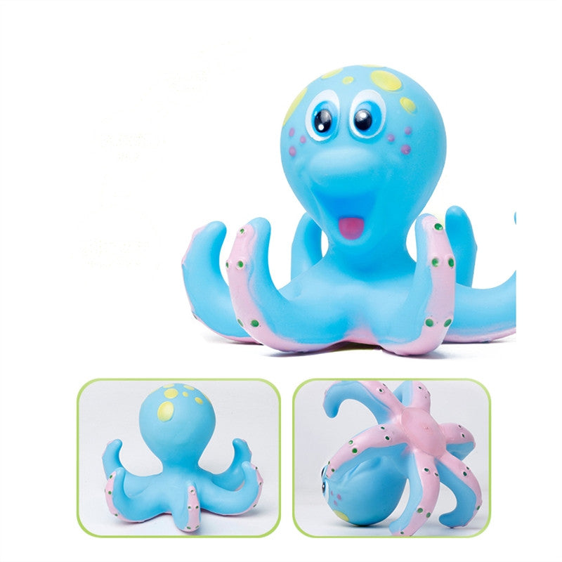 Octopus and Rings Bath Toy – Mialoni Baby and Toddler Gift Shop