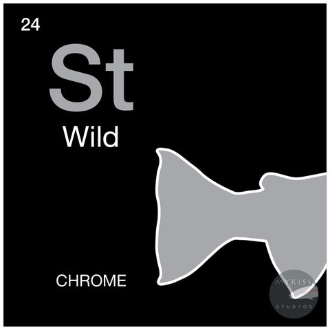 Periodic Tables Steelhead Sticker 3.5 X