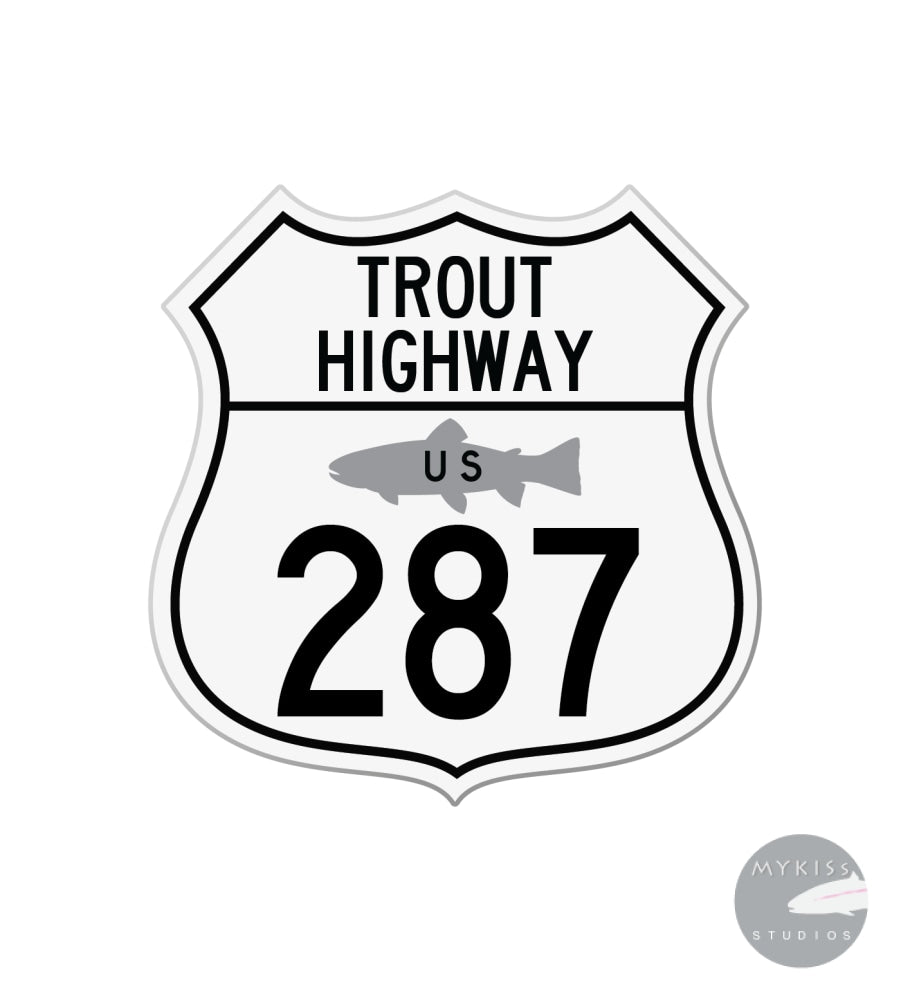 Trout Highway US 287