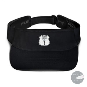 The Tarpon Highway Visor Black