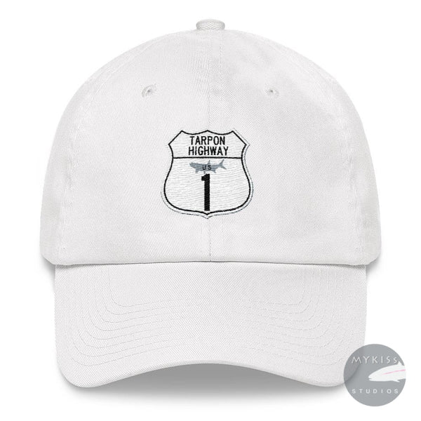Tarpon Highway Hat White