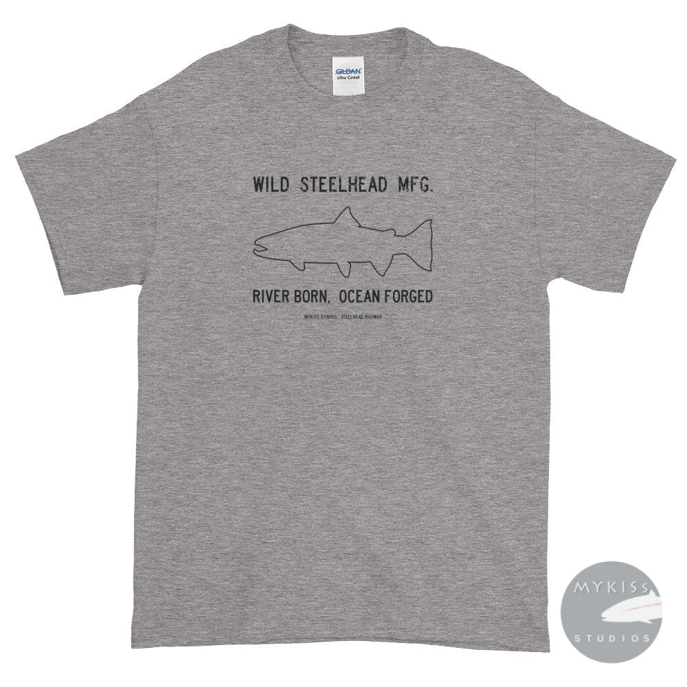 Wild Steelhead Mfg. Sport Grey / S Shirts