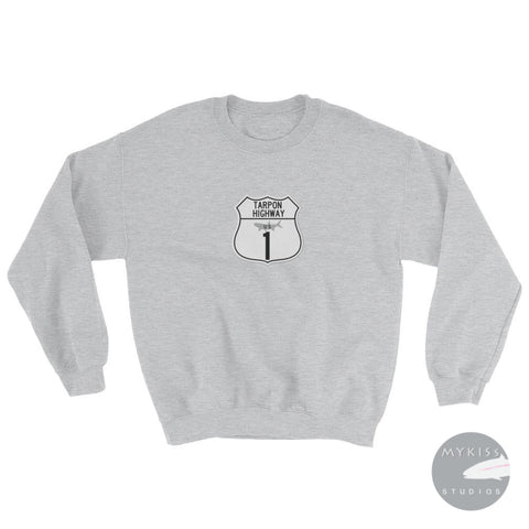 Tarpon Highway Sweatshirt Sport Grey / S
