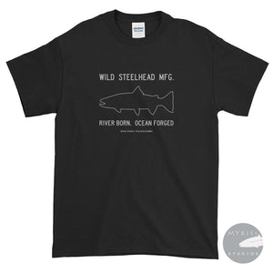 Wild Steelhead Mfg. Dark Black / S Shirts